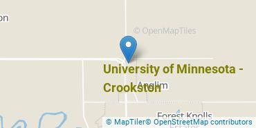 Location of University of Minnesota - Crookston