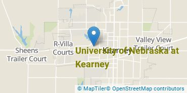 Location of University of Nebraska at Kearney