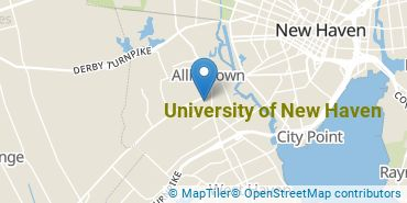 Location of University of New Haven
