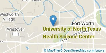 Location of University of North Texas Health Science Center