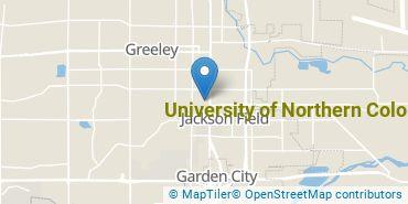 Location of University of Northern Colorado