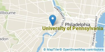 Location of University of Pennsylvania