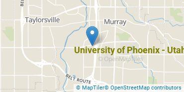 Location of University of Phoenix - Utah