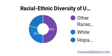 Racial-Ethnic Diversity of UOPX - Utah Undergraduate Students
