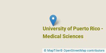 Location of University of Puerto Rico - Medical Sciences