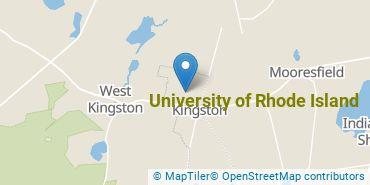 Location of University of Rhode Island