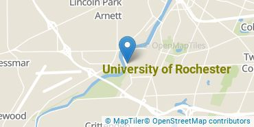 Location of University of Rochester