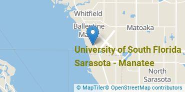 Location of University of South Florida Sarasota-Manatee