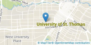 Location of University of St. Thomas