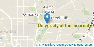 Location of University of the Incarnate Word