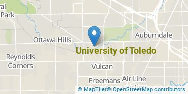 Location of University of Toledo