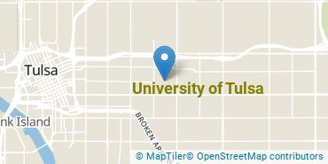 Location of University of Tulsa