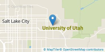 Location of University of Utah