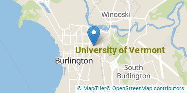 Location of University of Vermont