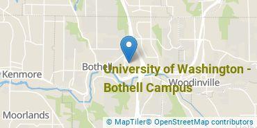 Location of University of Washington - Bothell Campus