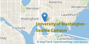 Location of University of Washington - Seattle Campus