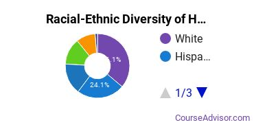 Racial-Ethnic Diversity of Homeland Security, Law Enforcement & Firefighting Majors at University of Washington - Tacoma Campus