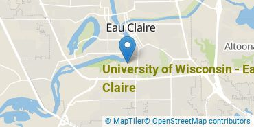 Location of University of Wisconsin - Eau Claire
