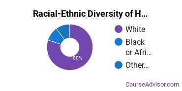 Racial-Ethnic Diversity of Health Sciences & Services Majors at University of Wisconsin - Green Bay