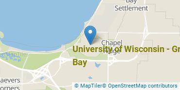 Location of University of Wisconsin - Green Bay