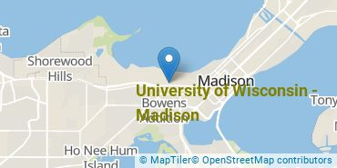 Location of University of Wisconsin - Madison