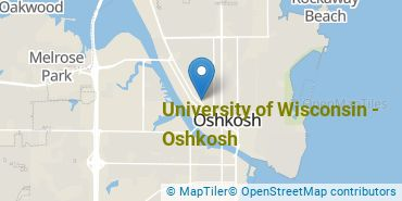 Location of University of Wisconsin - Oshkosh