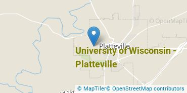 Location of University of Wisconsin - Platteville