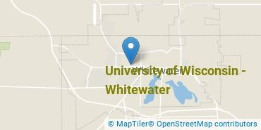 Location of University of Wisconsin - Whitewater