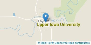 Location of Upper Iowa University