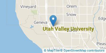Location of Utah Valley University