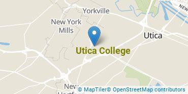 Location of Utica College