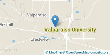 Location of Valparaiso University