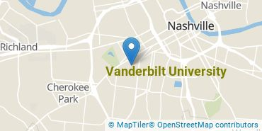Location of Vanderbilt University