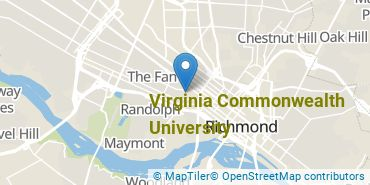 Location of Virginia Commonwealth University