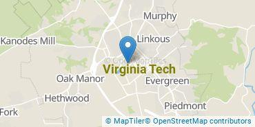 Location of Virginia Tech
