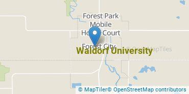 Location of Waldorf University