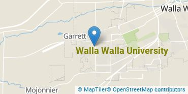 Location of Walla Walla University