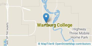 Location of Wartburg College