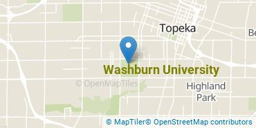 Location of Washburn University