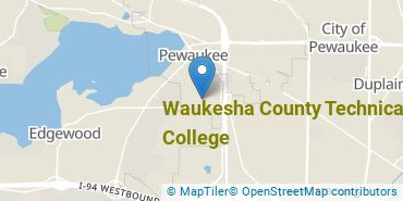 Location of Waukesha County Technical College