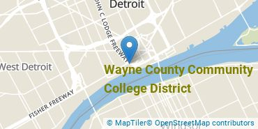 Location of Wayne County Community College District