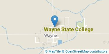 Location of Wayne State College