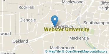 Location of Webster University