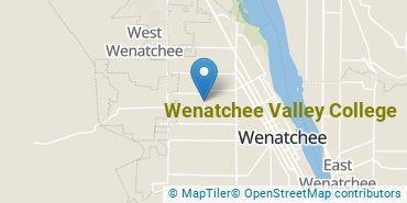 Location of Wenatchee Valley College