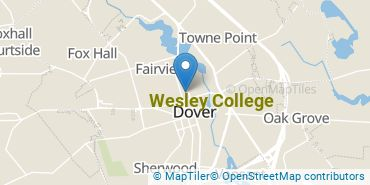 Location of Wesley College