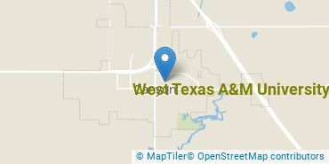 Location of West Texas A&M University