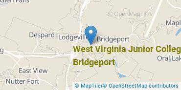 Location of West Virginia Junior College - Bridgeport