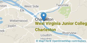 Location of West Virginia Junior College - Charleston