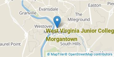 Location of West Virginia Junior College - Morgantown