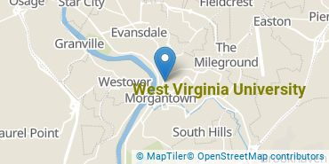 Location of West Virginia University